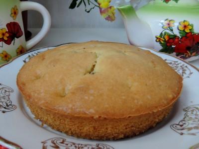 Вишневый пирог со сметанной заливкой - DSCN8601.JPG