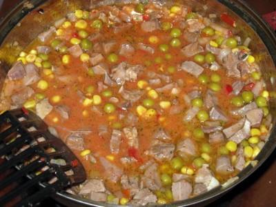Свиной язык с овощами и рисом - Свиной язык с овощами и рисом 4.JPG