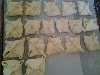 Конвертики с черносливом из слоеного теста - Foto0308.jpg